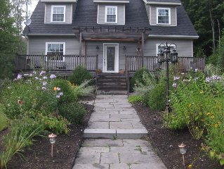 Stylish and modern house in the quaint town of Millbrook.
