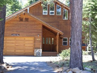 Modern, Bright, Backs to Forest, Walk to Tahoe Rim Trail, Wifi