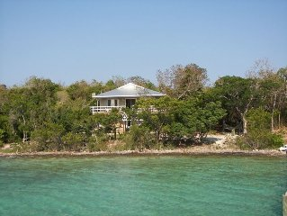 Out Island Cottage on Water Offers Gorgeous Bit of Paradise with Dock