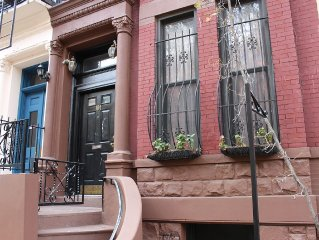 ENTIRE HOUSE! Charming 1880s Manhattan townhome, centrally located, sleeps 10