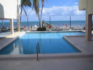 Completely Remodeled 2 Bedroom, 2 Bath Florida Keys Condo On the Atlantic Ocean