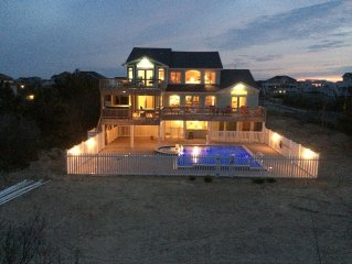 Book Fall & 2020! OCEANFRONTGreat 6 Br/5.5 Ba w/BIG Custom &Kiddie Pool, Big Rms