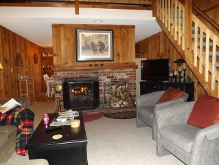 Mt Snow 2 Bedroom Townhome with Sleeping Loft 3 Night Weekend Special $450