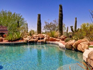Desert Retreat In Luxurious Gated Community