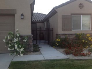 Walking distance to Stage Coach beautiful new home.