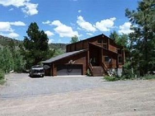 Real Log Cabin Retreat at Panguitch Lake