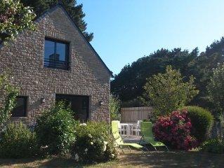 Maison au bord du golfe du morbihan avec jardin située à Brillac