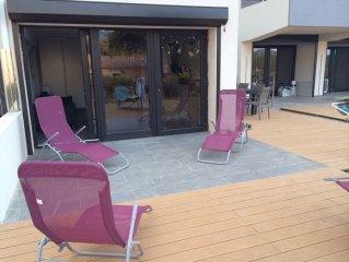 T3 Algajola 72m2 climatise avec 2 terrasses a 300m de la Plage
