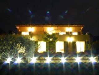 Villa Santa Ana, clim, piscine chauffee, paradis pour enfants, WIFI, vue