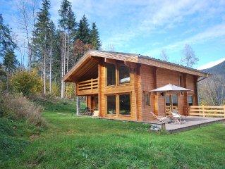 Chamonix-Les Houches. Beau chalet  neuf en madriers.Proche nature.