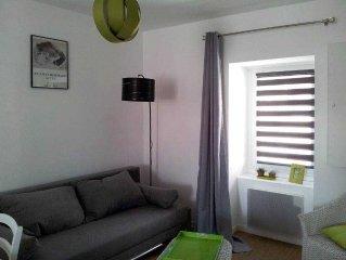 Appartement hypercentre idéalement placé : au calme et proche de la plage Ecluse