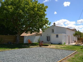 Charente house renovated 8/10 people