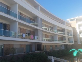 3-bedroom apartment, 2 swimming pools, 300 metres from the beach, 8 persons