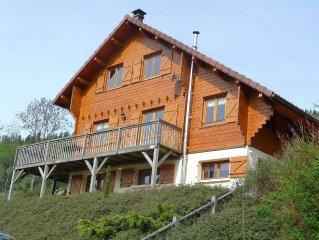 Grand Chalet nature montagnarde à la Bresse!