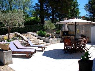 PROMOTION A LA SEMAINE - Spacieux bas de villa en Provence à Pierrevert