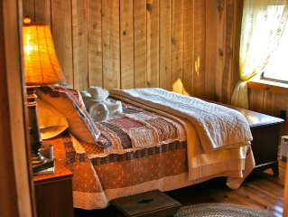 Peaceful Seclusion in the Blue Ridge Mountains: FIVE STAR CABIN! sleeps 6