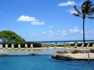 4-STAR OCEANFRONT RESORT. Steps to Beach, Pools, Jacuzzi, Pool Bar- FREE WiFi!