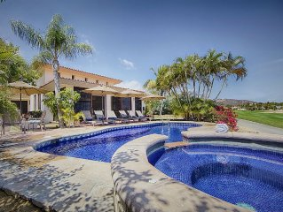 Beautiful Golf Course And Ocean View Home In The Exclusive Palmilla Neighborhood