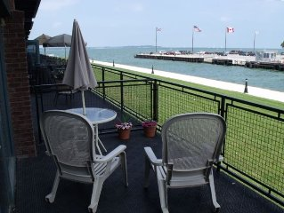 You will love the large patio overlooking Lake Erie! Read my reviews!!!