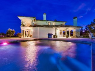 Elegant Murrieta Mediterranean  Estate with Private Tennis Court