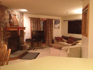 Stratton Mountain, Ski In/Ski Out, Obertal C Building, 2 Bedrooms, 1 Bath