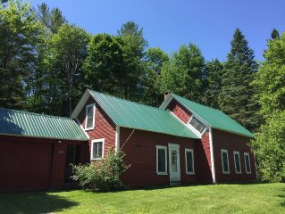 Large Farmhouse Perfect Four Season Rental in the Mad River Valley
