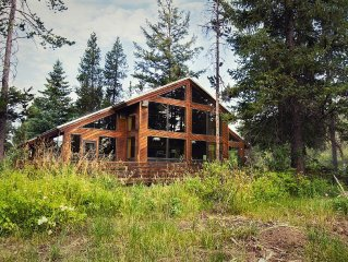Completely Private 40 Acre Lodge on Fall River Targhee National Forrest