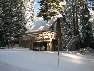 West Shore Lake Tahoe Beaut. 4BR 2BA Large Deck & Lawn Excellent Reviews