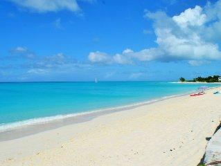 Modern Villa Near Beach - Swim off the dock - Grace Bay environs -SPECIALS!!