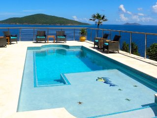 Villa Sorriso: Ocean Front Luxury Villa w/ Pool & Hot Tub
