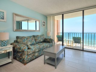 Newly renovated Ocean Front Condo!!! Ocean Front Pool, kiddie pool & hot tub!