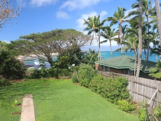 Quaint Paia Beach House A/C Ocean Views! Walk to Paia Town & Beach! Permitted