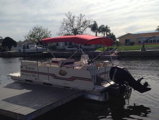 Waterfront Home - Heated Pool, Pontoon Boat, Gulf Access,