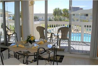 Beautiful modern 1BR right ON THE POOL!  One of SPC's most booked 1BR units!