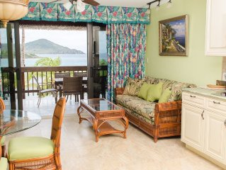 Brand New Two Bedroom Villa on the Beach: European Elegance in Caribbean Setting