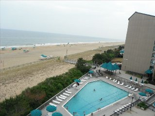 Sea Colony Rare Oceanfront Point Unit