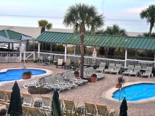 Beautiful 3 bedrm/2 bath oceanfront condo in Resort! Fabulous Location!