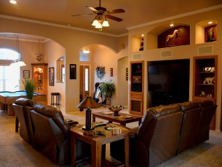 Ultimate Entertainment and Relaxation 4-Bedroom Home