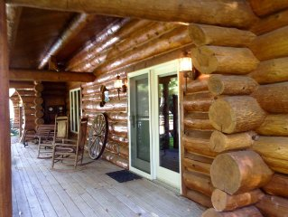 Log Home- July 30-Aug 5 & Aug 19-27 are still open