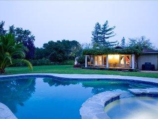 Casa Sonoma, Saline Pool & Hot Tub, Hobby Vineyard, No Pets-Permit No: 443N