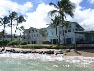 Luxury 4 bdrm/4 bath oceanfront home with hot tub and great ocean views