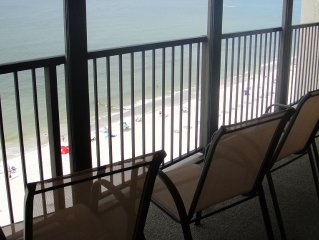 One Bedroom Gulf Front Penthouse Condo at Ocean Sands