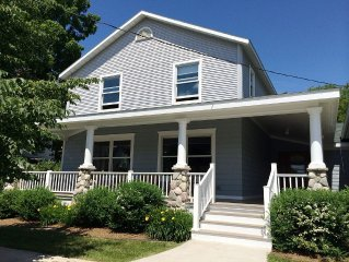 Stunning newly renovated house downtown Harbor Springs, Michigan