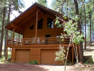 Cabin Nestled in the tall Pines 'Little Elk Lodge', Flagstaf