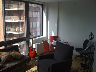 PRICE CUT FOR SUMMER MONTHS! Luxury 1 Bedroom Steps from Central Park West!