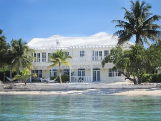 Beachfront Villa - On the beach  at February Point George Town, Great Exuma
