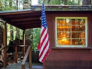 Play In A Creek, Sleep In The Shade Of Redwoods