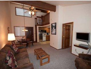 Aspen Village - 1 Private Bedroom + 1 Ladder Loft Bedroom