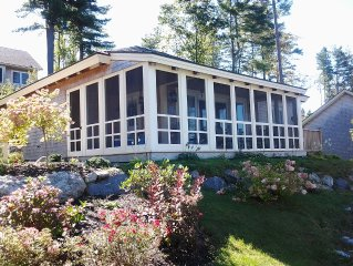 Waterfront Cottage In The Pines - Edgecomb