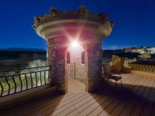 Italian Villa in the Middle of New Mexico Desert - Executive retreat welcome